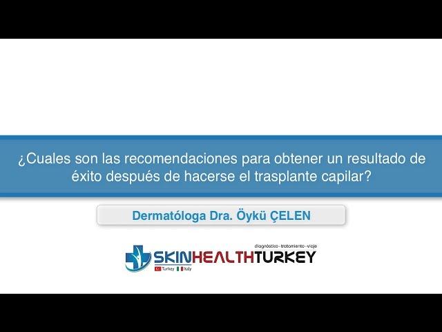 ¿Cuales son las recomendaciones para obtener un resultado de éxito después del trasplante?