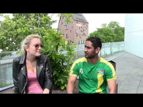Interviews with foreign students University Rhine-Waal in Cleves (Germany)