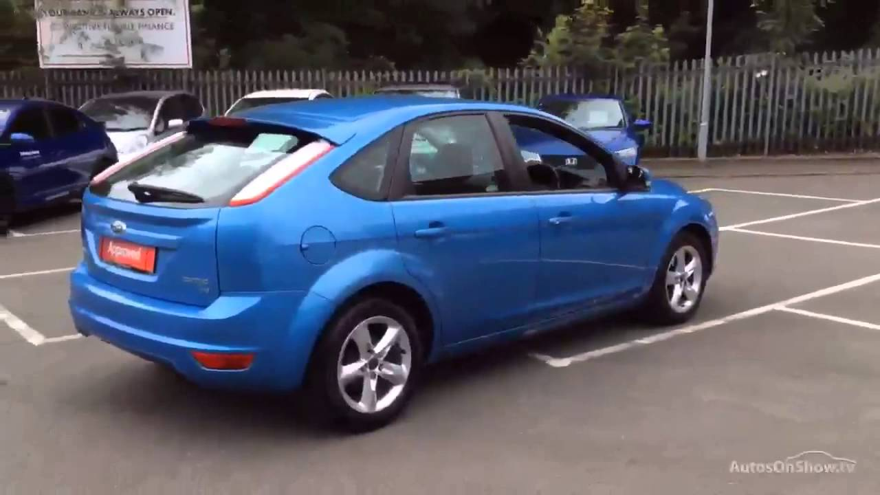 Ford Focus Zetec Blue 2009 Youtube
