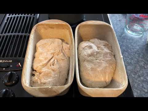Making English Muffin Bread