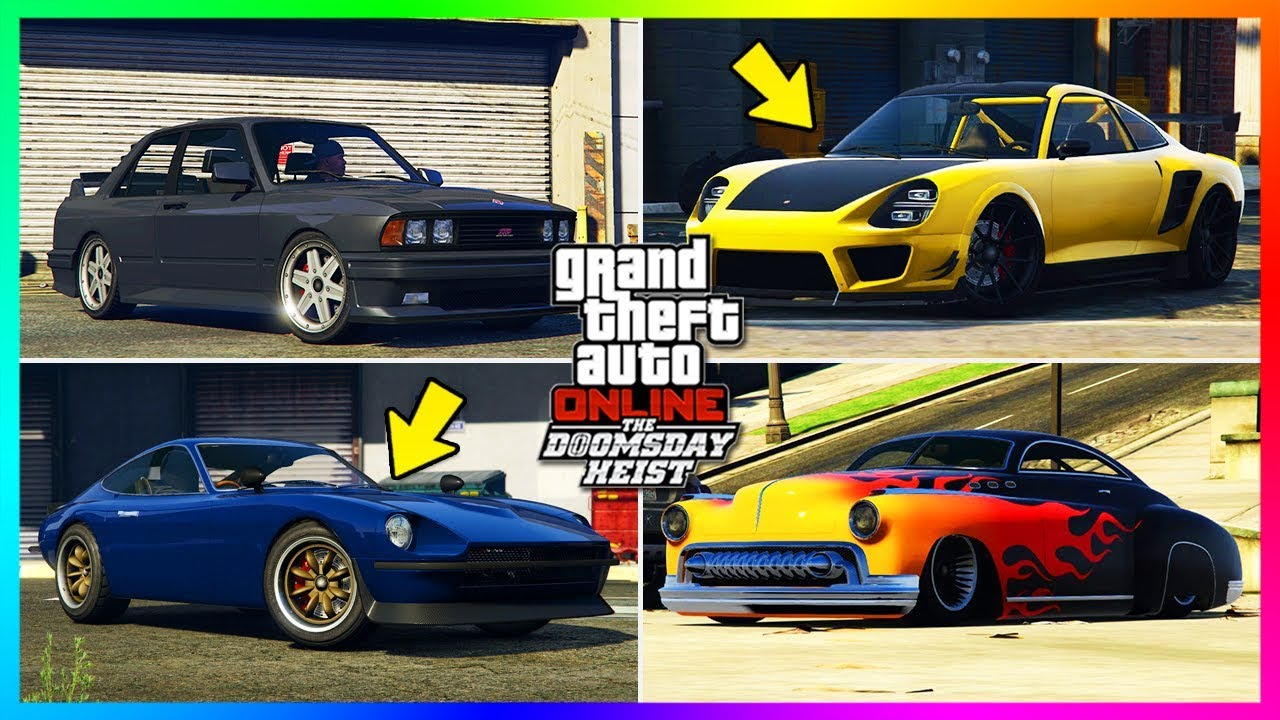 GTA Online Doomsday Heist DLC - 13 NEW Unreleased Vehicles ...