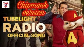 Tube light -Radio song | Chipmunk version | Joking Kidz | Sajan Radio Bajailo Bajailo Zara