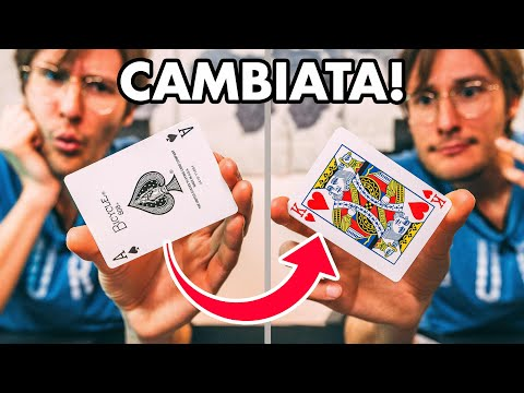MAGIA FACILE E D'IMPATTO CON LE CARTE / Le carte educate / Tutorial from YouTube · Duration:  9 minutes 26 seconds