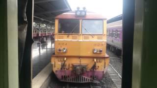 Вокзал Хуа Лумпонг, Бангкок. Прицепка локомотива.