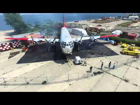 Floyd Bennett Field DJI Inspire 1  Boeing C-97 Stratofreighter