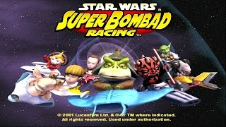 Star Wars: Super Bombad Racing PS2 Playthrough - These Are Not The Mario Karts You Are Looking For