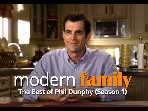 Modern Family - Best Phil Dunphy Moments (Season 1)