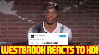 RUSSELL WESTBROOK REACTS TO KEVIN DURANT SIGNING WITH THE WARRIORS!