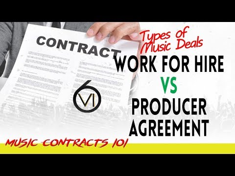 Ep. - 85 Work For Hire vs Producer Agreements: The Differences