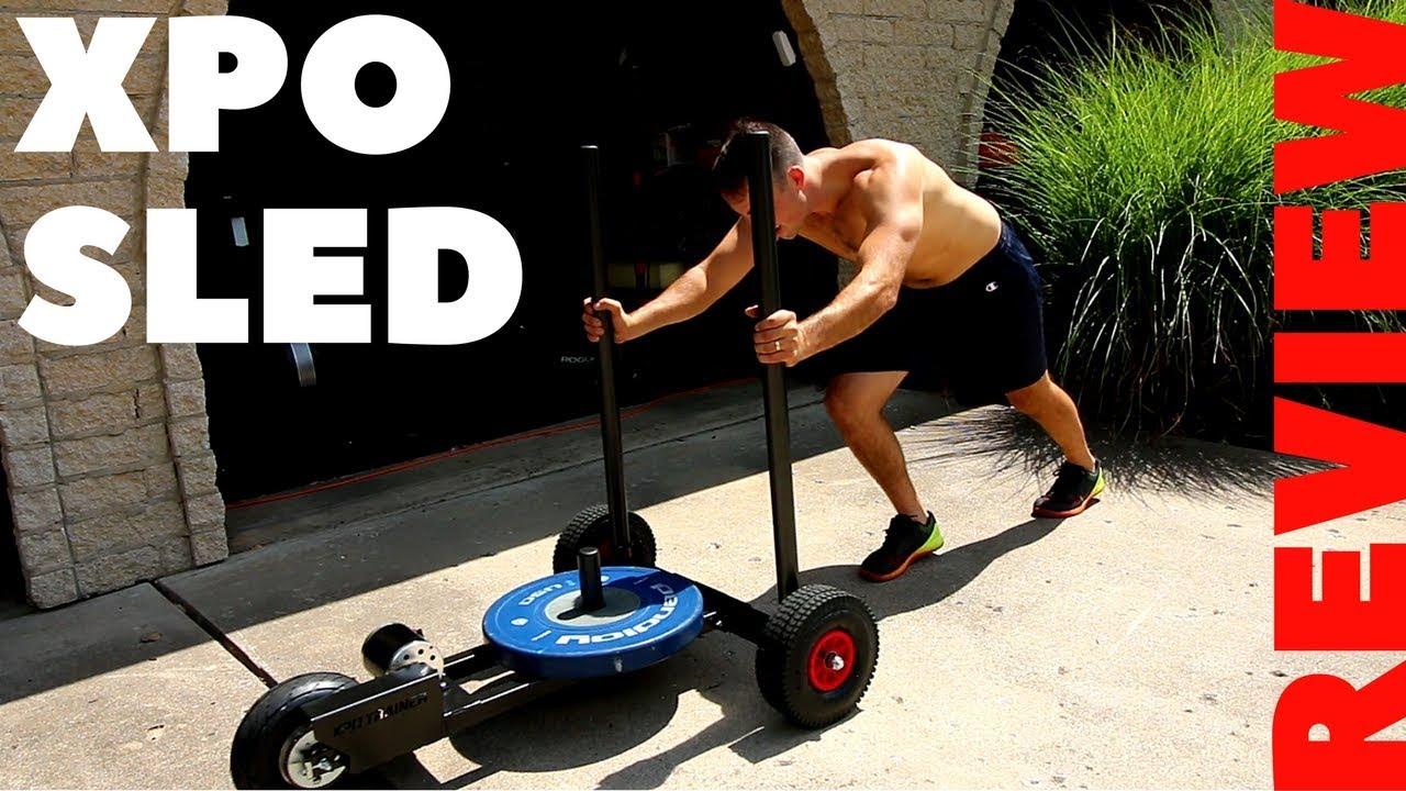 Powermax push pull sled
