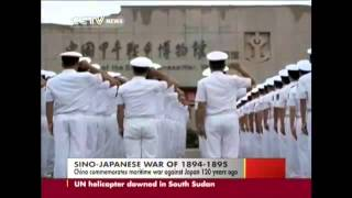 HOT!! China commemorates first Sino Japanese War  /New York Times