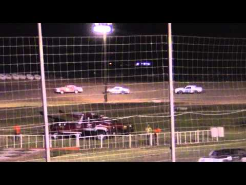 Pure Stocks at Lubbock Speedway 8-21-15