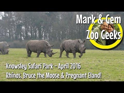Mark & Gem - Zoo Geeks - Knowsley Safari Park - April 2016