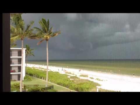 Sundial Sanibel Island afternoon storm