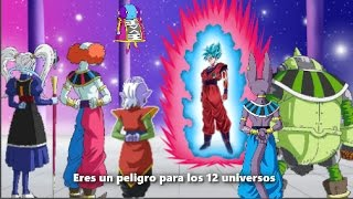 GOKU vs LOS 12 DIOSES DE LA DESTRUCCIÓN   Final del torneo universal   Historia parte 1