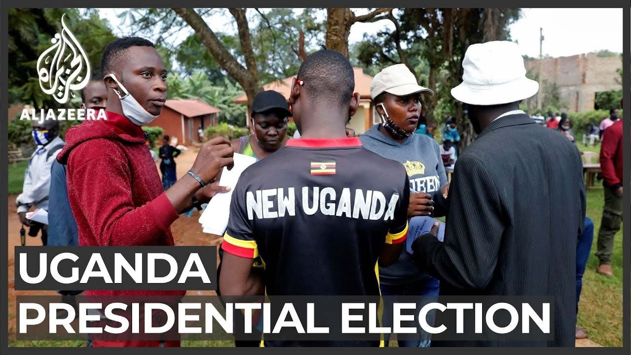 Uganda votes in tense presidential election