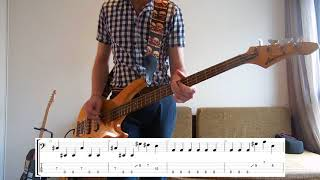Royal Blood - Look Like You Know Bass cover with tabs