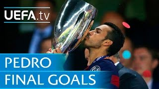 New Chelsea signing Pedro39s famous final goals