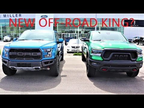 2019 Ram Rebel Vs 2019 Ford Raptor: Which Truck Is The King Of The Off-Road?