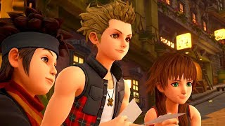 KINGDOM HEARTS 3 (English) - All Twilight Town Cutscenes