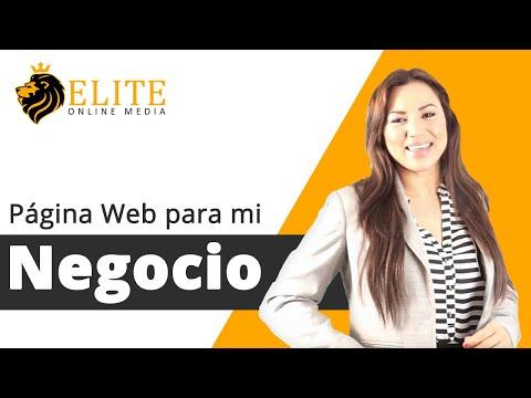 Página web para mi negocio con Elite Online Media
