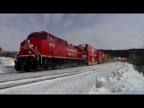 Winter 2018 ~ CN & CP In Northwestern Ontario