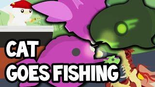 NAJWIĘKSZY STATEK, EGZOTYCZNE RYBY! - Cat Goes Fishing