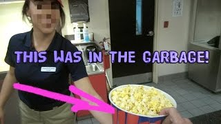 HOW TO GET FREE FOOD AT THE MOVIES! SOCIAL EXPERIMENT :) | OmarGoshTV