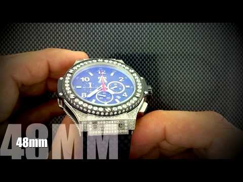 iced out lab made simulated diamond watch techno art mens big face iced out lab made simulated diamond watch techno art mens big face