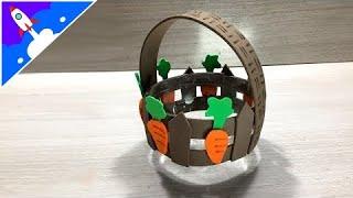 Como fazer uma cesta de Páscoa usando garrafa PET