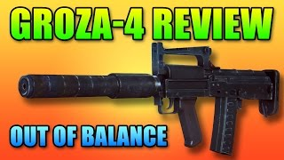 Groza-4 PDW Review - Out Of Balance? | Battlefield 4 Gameplay