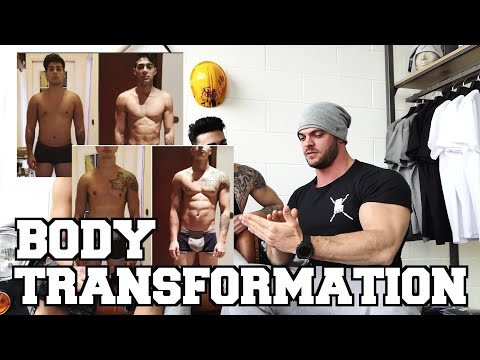 BODY TRANSFORMATION | Cambiare vita in 6 mesi