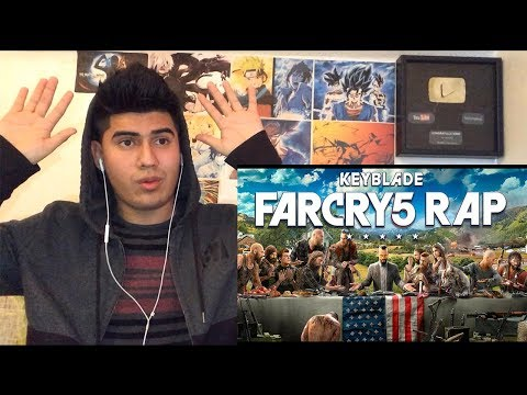 FAR CRY 5 RAP - AMÉN | KEYBLADE | VÍDEO REACCION