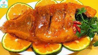 CÁ ĐIÊU HỒNG SỐT CAM | Cách chế biến cá thơm ngon hấp dẫn | Bếp Của Vợ