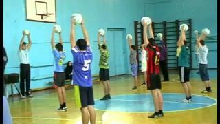 Конкурсный урок физкультуры 16 12 2011