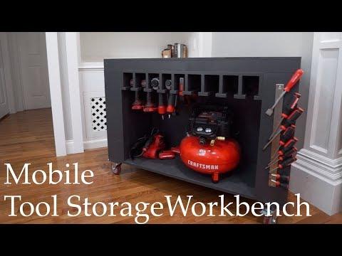 Mobile Tool Storage Workbench
