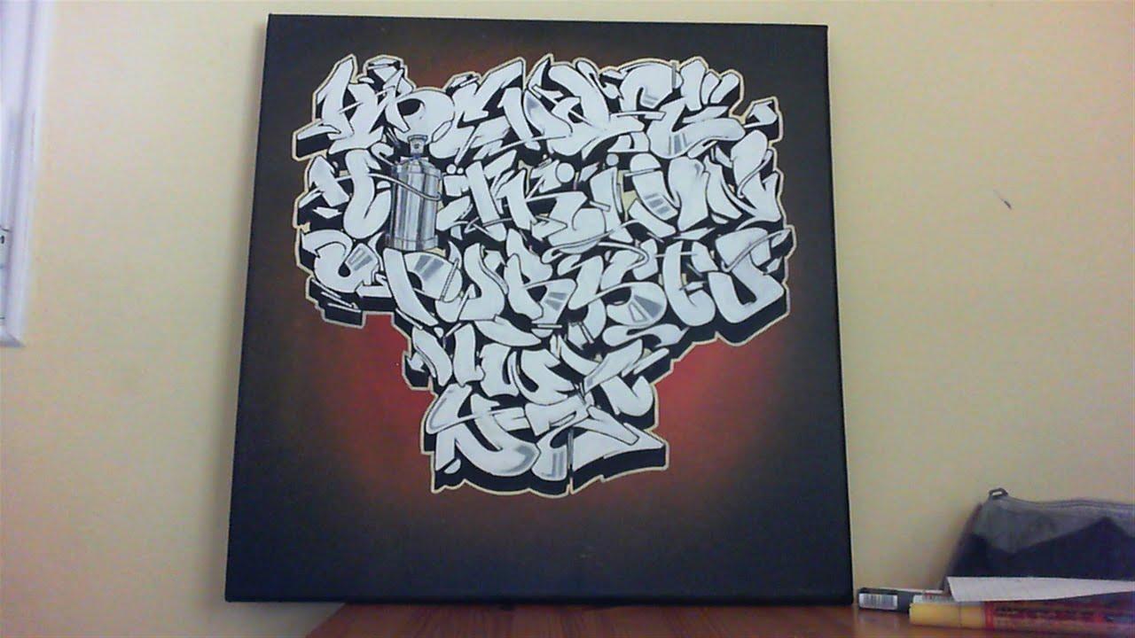 Graffiti Alphabet Mcflycon