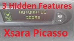3 Ukryte Funkcje w Citroen Xsara Picasso 2003 2010