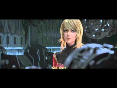 Capitan Harlock 3D - Official Movie Trailer in Italiano - FULL HD