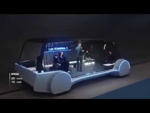 Boring Co urban loop system preview -  priority to pedestrians & cyclists over cars