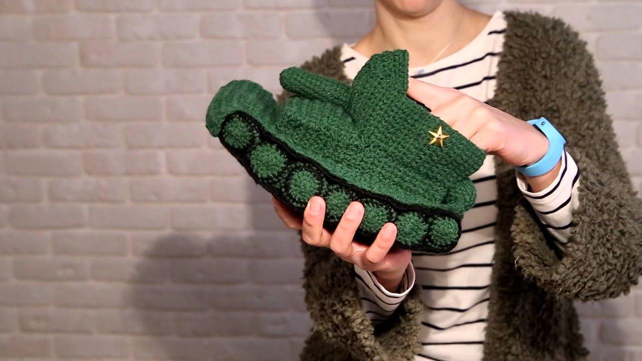 Handmade knitted Slippers, Green Crochet tank, Hand Knitted funny ...