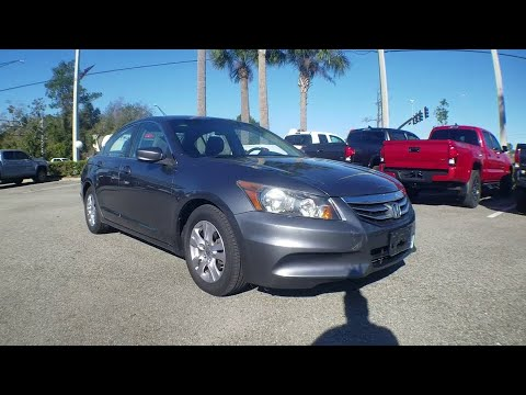 2012 Honda Accord Sdn Jacksonville, Arlington, Orange Park, Nocatee, Palencia, FL CA031776
