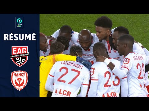 Guingamp Nancy Goals And Highlights