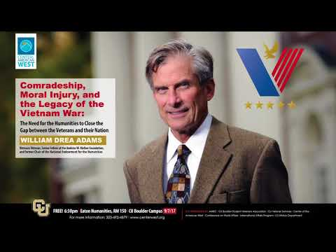 Comradeship, Moral Injury, and the Legacy of the Vietnam War - Lecture