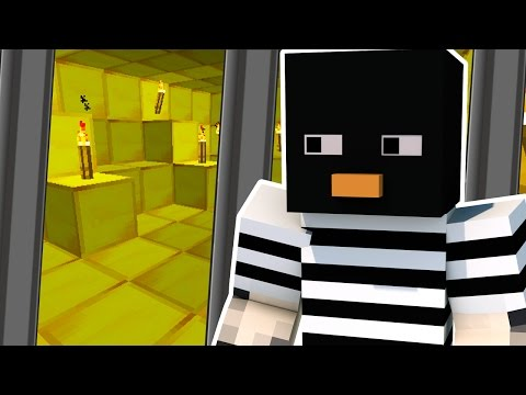 BREAKING INTO FORT KNOX IN MINECRAFT!