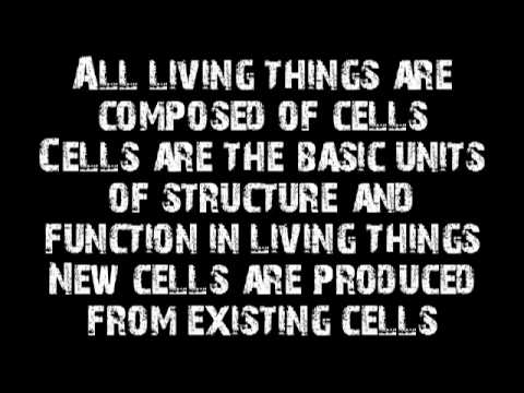 Cell Theory Rap