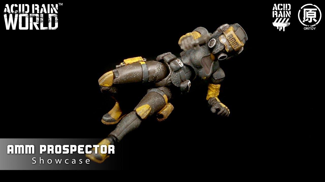 Ori Toy Acid Rain World AMM Prospector Female 3.75/'/'Figure New