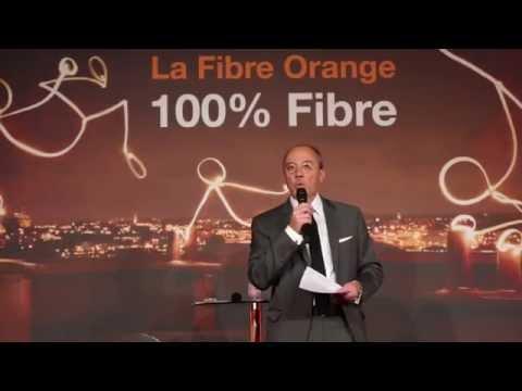 Orange: Conférence de presse 100% fibre