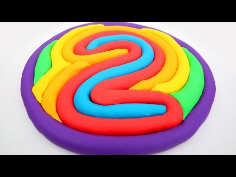 Thumbnail: Learn Colors Play Doh Number 2 Modelling Clay Fun And Creative For Kids learn Colors Mighty Toys