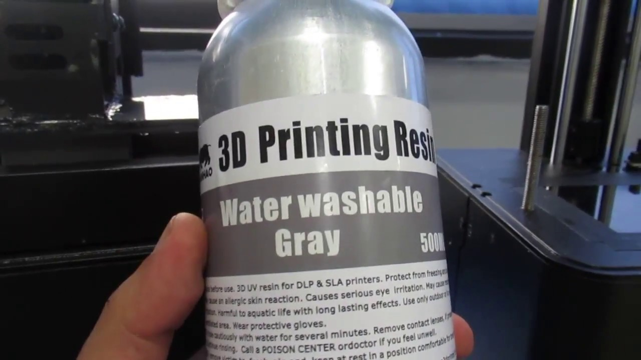 Wanhao Water Washable resin